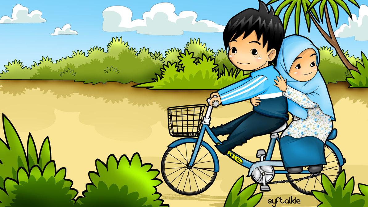Download 9100  Gambar Animasi Lucu Pasangan HD Free