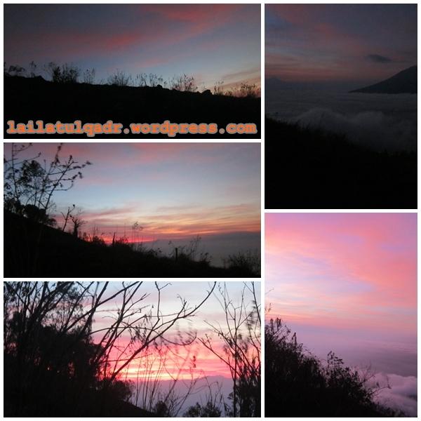 Sunrise di Penanggungan