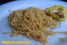 Mie Goreng dan Telur Dadar